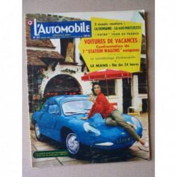 L'Automobile n°147, Renault Frégate Domaine, stations-wagons breaks, Carrosserie Atla, Dauphine Ferry 130 Vinatier Volcan