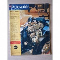 L'Automobile n°156, Goliath Hansa 1100, Vauxhall Victor, Louis Rosier, Junior Ferry, Cooper-Borgward, Mickey Thompson