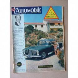 L'Automobile n°159, Panhard PL17 Tigre, Simca 1937-59, Renault Floride, Estafette, Jean-Henri Labourdette, DB Panhard