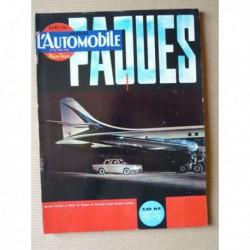 L'Automobile n°192, Ford Taunus 17M TS, Abarth Simca 1300, Facel Vega Facellia F2, Lotus Elite, Musée de Rochetaillée