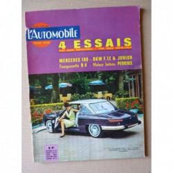 L'Automobile n°208, Mercedes 190 w110, DKW F12 et Junior, Renault 4 Fourgonnette, Volvo, Musée de Clères