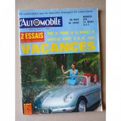 L'Automobile n°231, Renault 16, BMW 2000CS, Marcos GT, 60 cabriolets, L'usine Porsche, Renault Frégate d'occasions