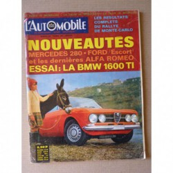 L'Automobile n°262, BMW 1600 TI, Hotchkiss, collection Harrah, La Croisière Jaune, Le pétrole
