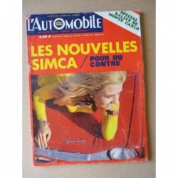 L'Automobile n°285, Alpine A110 1600S, Simca 1301 Special, Alfa Romeo P2 1924-30