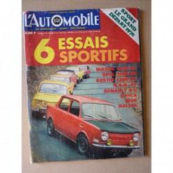 L'Automobile n°286, Austin 1300GT, Mazda 1200SL, NSU TT, Opel Kadett 1100SR, Renault 8S, Simca 1000 Rallye, Kégresse