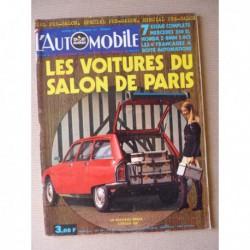 L'Automobile n°304, Honda Z, Peugeot 504 Autobleu, Pug Bunny Tecumseh, BMW 3.0CS, Mercedes 350SL R107, Hispano-Suiza
