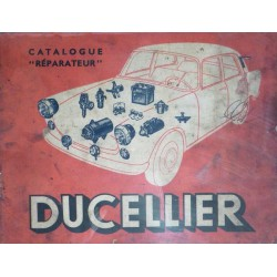 Ducellier, catalogue réparateur (1961)
