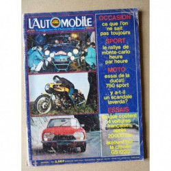 L'Automobile n°321, Citroën Ami Super, Chrysler 2L, Citroën GS 1220, Porsche 914, George Follmer, Ducati Sport 750