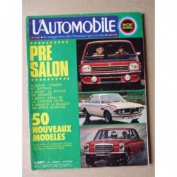 L'Automobile n°328, Zastava 1100, Wildcat 6x6 Gato Montes, Chevrolet Camaro Z28, Laverda 750 SF, Clément-Bayard