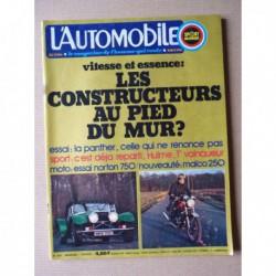 L'Automobile n°333, Panther J72 4.2L, Autoplane de Lebouder, Cord L29, Gabriel Voisin, Norton 750 Roadster