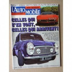 L'Automobile n°349, Bricklin EXV1, Alfa Romeo Alfasud TI, Fiat 128 coupé, TriVette, Maserati en 1975, BMW 90S