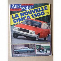 L'Automobile n°350, Peugeot 604, Bentley R Type, Dale et Elizabeth Carmichael, Honda 1000 Gold Wing