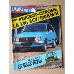 L'Automobile n°362, Ford Fiesta mk1, tous terrains 1976, Ferrari 365 GT, Scarat, Suzuki 380 GT