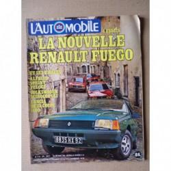 L'Automobile n°405, Porsche 928S, Fiat 131 Abarth, Fuego GTS, Alfasud Sprint Veloce, Beta 1600, Scirocco GLI