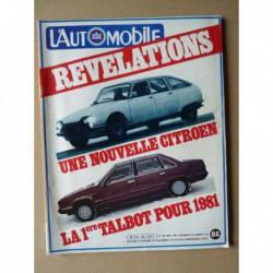 L'Automobile n°406, Lancia Delta 1300 1500, Audi Quattro, Ferrari 158, Benelli 900 SEI