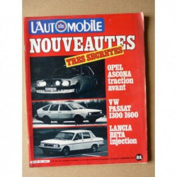 L'Automobile n°407, Alfa Romeo Alfasud 1.5, Renault Fuego GTL, Mercedes 450 SLC 5.0, Subaru Leone 4x4, Danielle Audetto