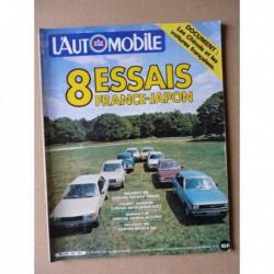 L'Automobile n°410, Renault 18 GTD, Peugeot 505 Production, Toyota Tercel, Mitsubishi Colt, Honda Accord, Mazda 929