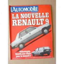 L'Automobile n°422, Volvo 244 Turbo, Peugeot 305S, Tazio Nuvolari, Fantic Trial 200, Montesa Cota 200, Jean Rondeau