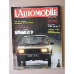L'Automobile n°424, Renault 9 GTC GTL, Disco Volante, Martini MK34 F3, le GPL