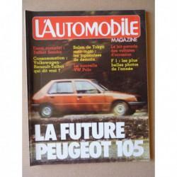 L'Automobile n°426, Talbot Samba GL, Volkswagen Polo CL, Maserati 450S Costin Zagato, Nelson Piquet