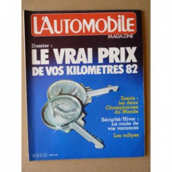L'Automobile n°427, Peugeot 104Z, Talbot Sumbeam Lotus, Brabahm BT49, Cathy Muller