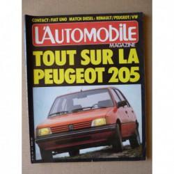 L'Automobile n°440, Audi Quattro, Aro 10, Renault 9 TDE, Peugeot 305 GLD, Volkswagen Jetta GLD, Heuliez, Lotus type XI