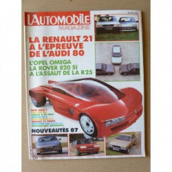 L'Automobile n°485, Renault 11 Turbo, Porsche 928 S4, 944S, Toyota Land Cruiser HJ61, Audi Quattro Production, Opel Omega