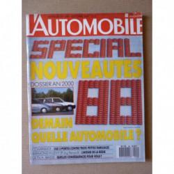 L'Automobile n°496, Aston Martin Vantage Volante, Citroën AX 11 TRE, Peugeot 205 GR, Renault 5 GTR, Opel Corsa GL, Rispal