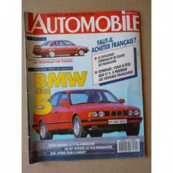 L'Automobile n°500, Renault Espace Quadra TXE, MVS Venturi, Lancia Delta HF Intégrale, Lancia D24