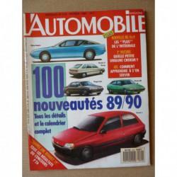 L'Automobile n°512, Lotus Esprit Turbo, Citroën BX 4x4, Audi 80 Quattro, Austin Metro VdP, Seat Marbella GLX, Yugo 45