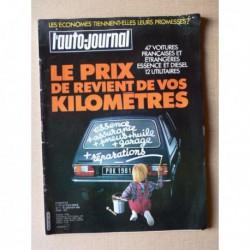 Auto-Journal n°01-81, Citroën 2cv Charleston, Peugeot 305S, Peugeot 104GR, Renault 5TL, Opel Kadett S, Talbot Horizon GL