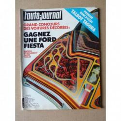 Auto-Journal n°02-81, Talbot Tagora GLS, Toyota Corolla DX, Renault 18 turbo, Saab 900 turbo, Volvo 244 t, Mercedes 240DL