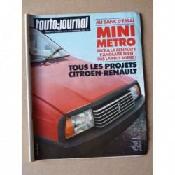 Auto-Journal n°05-81, Min Metro HLE, AMX 10RC, Talbot-Lotus Gr2, Renault 4 JP4, Renault 5 GTL