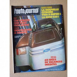 Auto-Journal n°06-81, BMW M535i E12, Citroën Visa II Super E, Usine Fiat