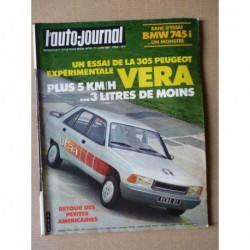 Auto-Journal n°10-81, BMW 745i E23, Lada 2105, Mercedes 540K, Peugeot Vera