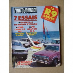 Auto-Journal n°13-81, Renault 4 Jogging, Volkswagen Golf GTI 16S, Ford Capri 2.8i, Mercedes 280GE, AMC Eagle Kammback