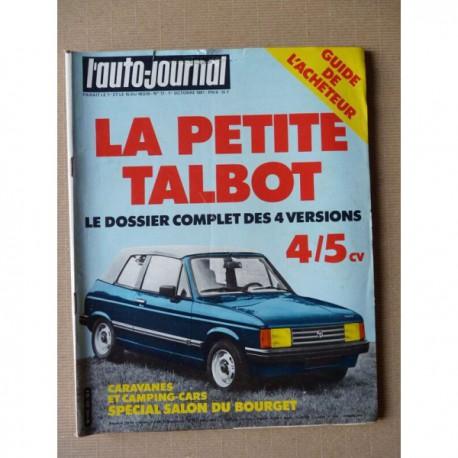 Auto-Journal n°17-81, Fiat Argenta 2000 injection, Volvo F12, Mercedes 1938S, Renault R360-19T, Rolls Royce Corniche