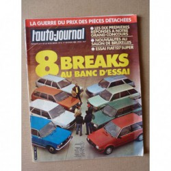 Auto-Journal n°02-82, Fiat 127 Super. Breaks GSA Club, Escort GL, Fiat 131CL, Kadett Voyage, 305SR, Polski 125PX, R18 GTS