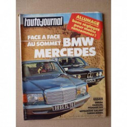 Auto-Journal n°08-82, Peugeot 505 Familiale, Mitsubishi Galant TD, Caddy Duport, Mercedes 500 SEL, BMW 745i, 504 4x4
