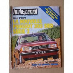 Auto-Journal n°16-82, Peugeot 305 SRD série 2, Audi 80 td, Swamp Buggies, Cord 815 SE