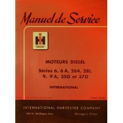 IH TD et UD, manuel de réparation moteur Diesel 4 cylindres