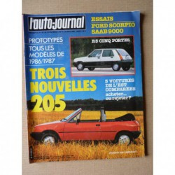 Auto-Journal n°09-85, Ford Scorpio 2.0i, Saab 9000 Turbo 16, Yugo 55L, Polski 125PX, Skoda 130R, Lada 2107, 1500 Polonez