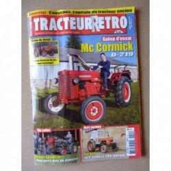 Tracteur Rétro n°55, McCormick D-219, GCGM 141, Manitou, Someca 1300, Vendeuvre BL 335, Rochet-Schneider 420 TA