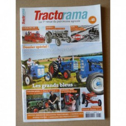 Tractorama n°48, Fordson Super Dexta, Super Major, Kuhn, Massey-Ferguson 100, Niel Dolo D10, Jean-Pierre Talnet