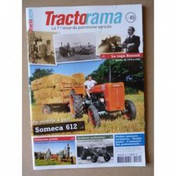 Tractorama n°49, Someca SOM 612, Renault 1918-45, Energic 511, Bugaud, Paul Baudouin