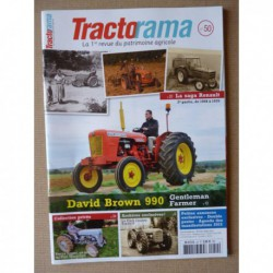 Tractorama n°50, David Brown 990, Renault 1946-70, SFV HV2, Ford County, Pierre Egger