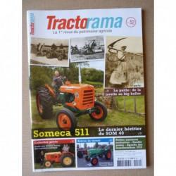 Tractorama n°52, Someca SOM 511, la paille, Volvo 350, Bernard Moteurs D1, Jérôme Gueneau