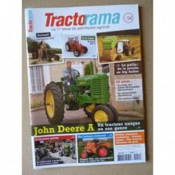 Tractorama n°54, John Deere A, usines McCormick, Allgaïer R22, LeO F bis, Michel Ribot