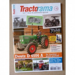 Tractorama n°55, Deutz D4506A, Volvo 1913-53, Crossley M, Christian Micard