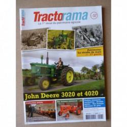 Tractorama n°57, John Deere 3020 4020, Allis Chalmers D270, Le Duvant de Bougival, Claude François Voirin, le maïs